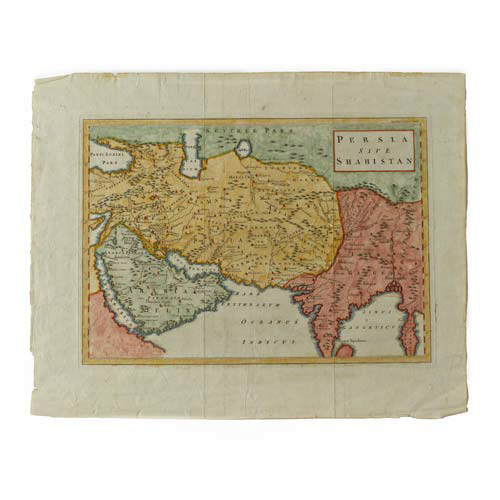 Vintage Map of Persia, 1747